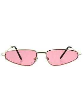 6e06f7f5c35 Product Image Mens Retro Vintage Style Triangle Pimp Metal Rim Narrow  Sunglasses Red