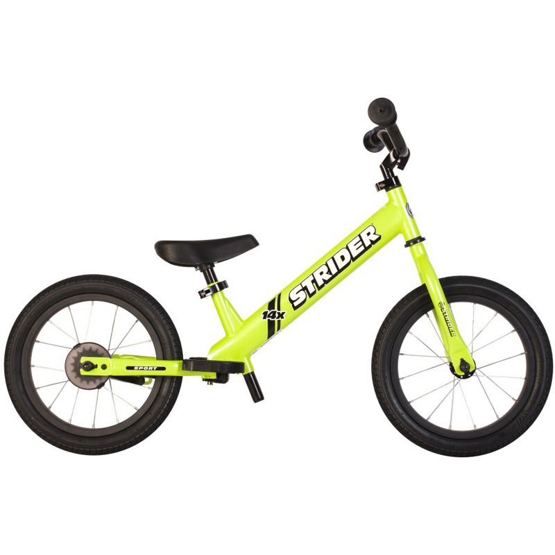 Strider 14X 2-in-1 Balance to Pedal Bike, Fantastic Green by Strider