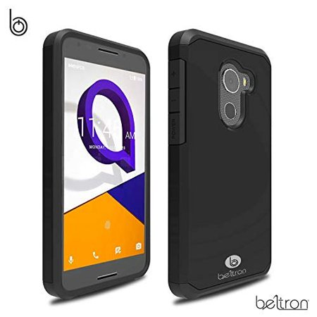 """Jitterbug Smart2 Case, Slim Protective Phone Cover, Dual Layer Protection  Hybrid Rugged Case (BELTRON Case for Jitterbug Smart 2 Easy-to-Use 5 5"""""""