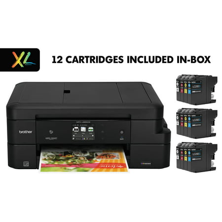 Brother Work Smart MFC-J985DWXL Copy/Fax/Print/Scan, 12 INKvestment Cartridges