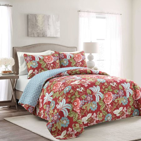 Sydney 3-Piece Full/Queen Quilt Set