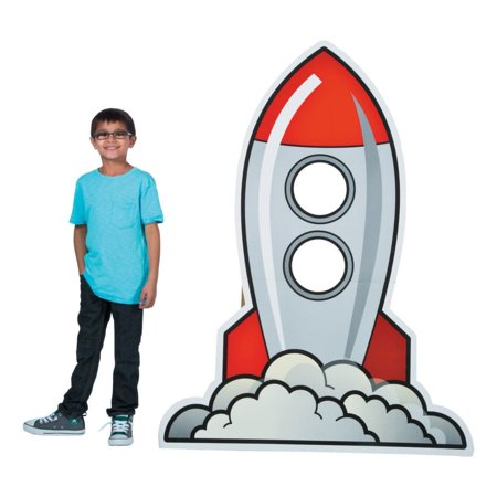 God's Galaxy VBS Rocket Photo Stand-Up (Vbs Supplies)