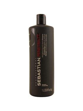 Sebastian professional penetraitt strengthening & repair shampoo, 33.8 fl oz