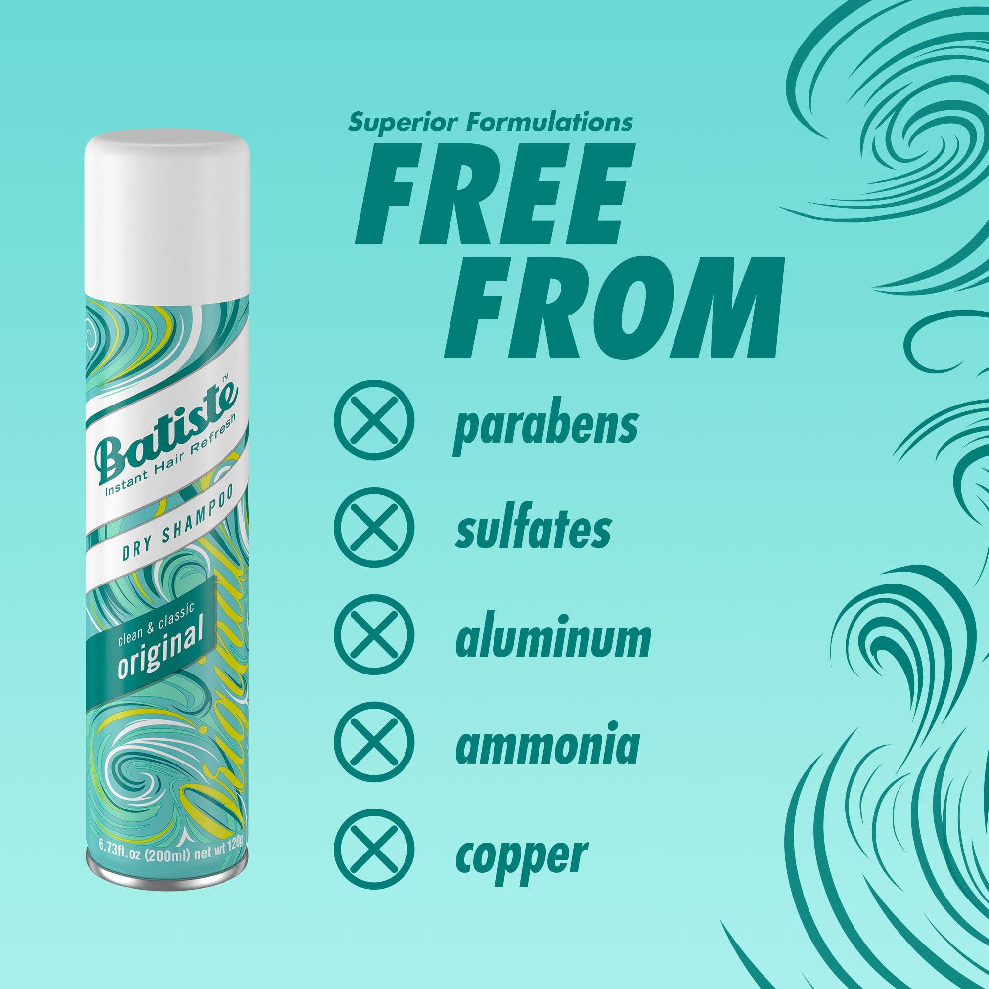 Batiste Dry Shampoo Original 13 46 Fl Oz Walmart Com Walmart Com