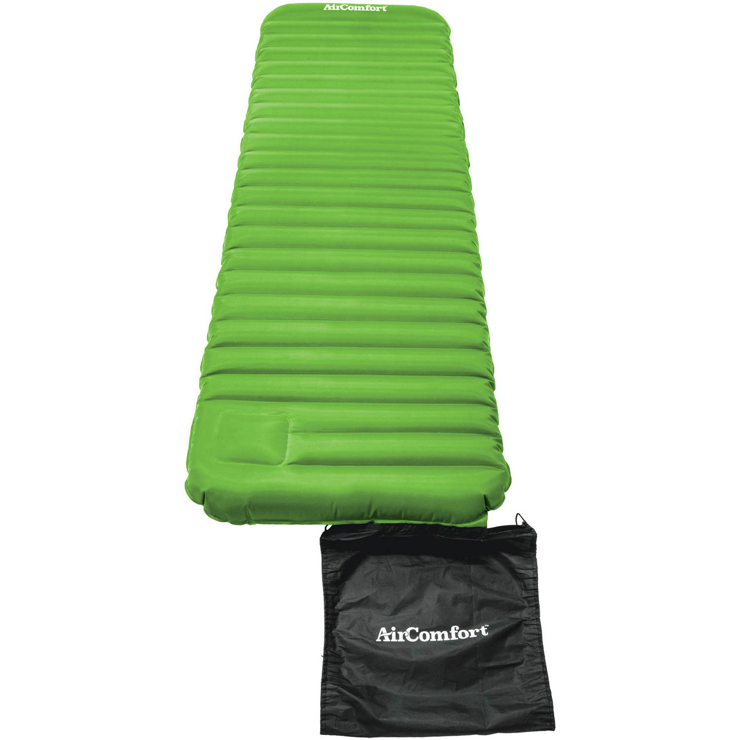 Air Comfort Roll and Go Large Inflatable Sleeping Pad - L...