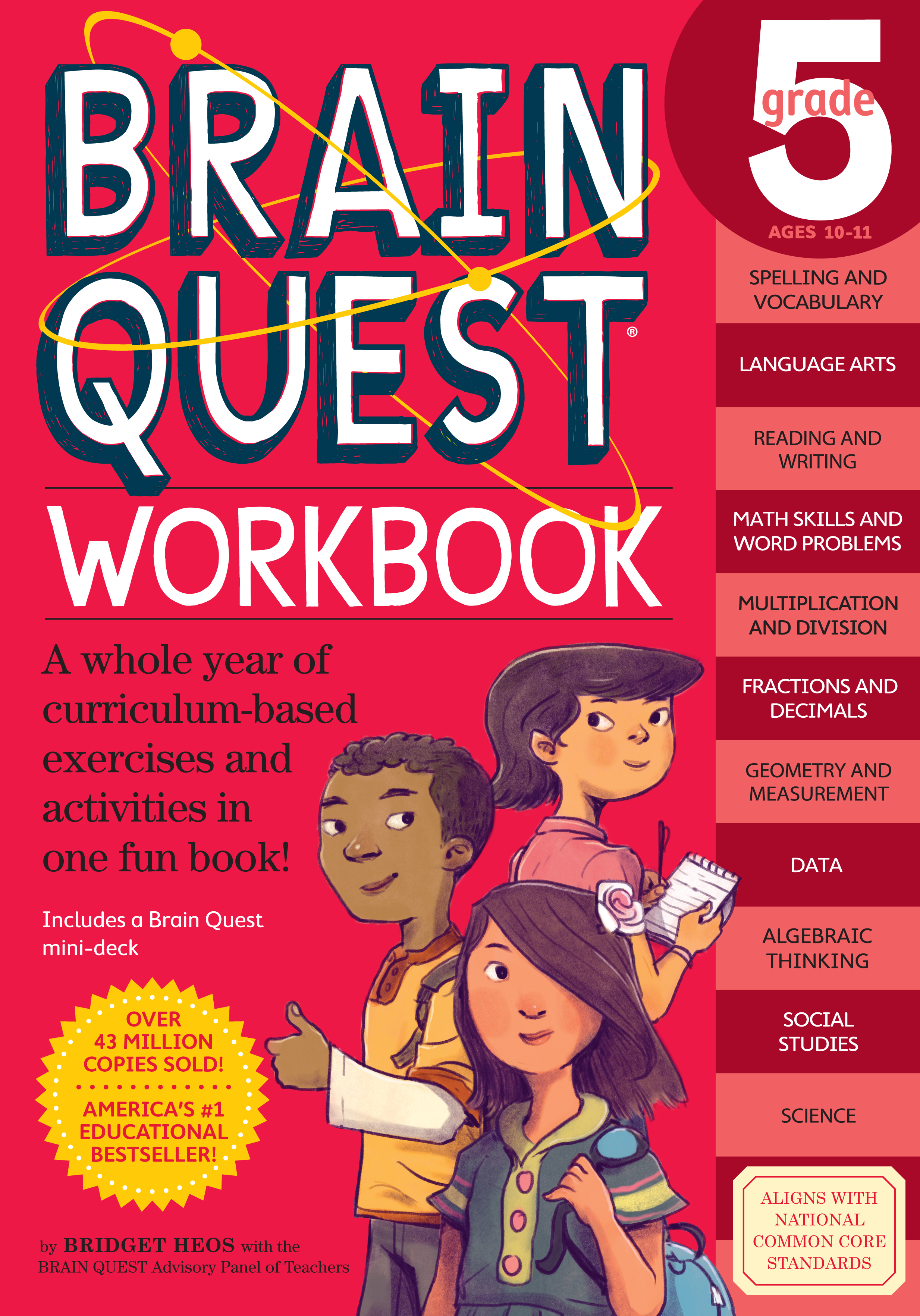 Brain Quest Workbook: Grade 5 - Walmart.com