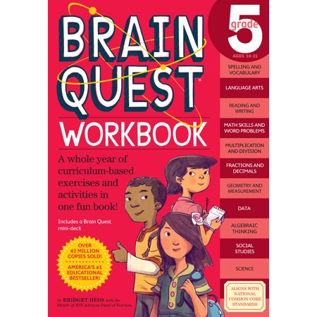 Brain Quest Workbook: Grade 5 - Paperback](Halloween Brain Food)