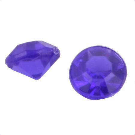Plastic Crystal Birthday Wedding Decoration Dark Purple 4.5mm Diameter 10000 Pcs - image 2 of 3