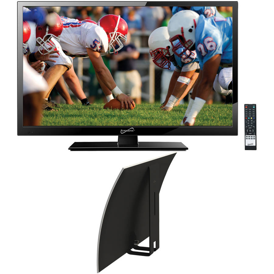 "Supersonic 19"" Class - HD, LED TV - 720p, 60Hz (SC-1911) and Mohu Curve 30 Indoor HDTV Antenna"