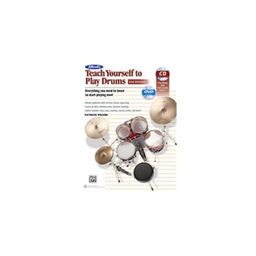 Alfred ed's Teach Yourself to Play Drums (2nd Edition) by
