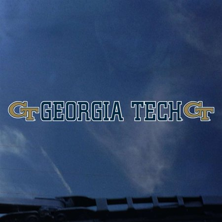 Georgia Tech Yellow Automotive Transfer Decal Strip