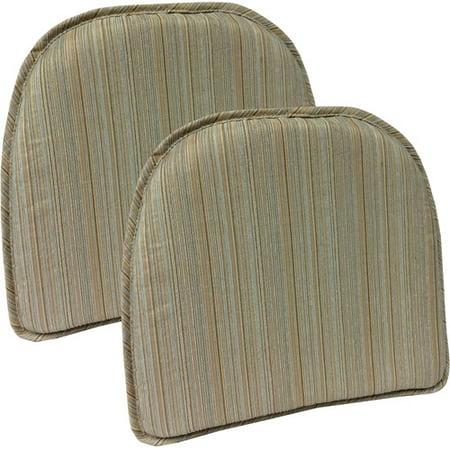 Gripper Non Slip 15 Quot X 16 Quot Harmony Chair Pad Set Of 2
