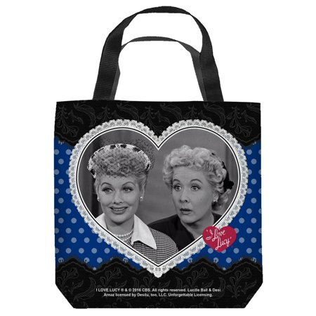 I Love Lucy Lace Of Friendship Tote