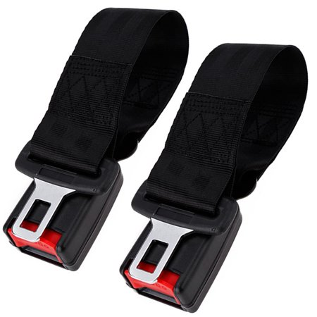 2Pcs 14  360Mm Seatbelt Extender Seat Belt Buckle For Car Vehicle Safety