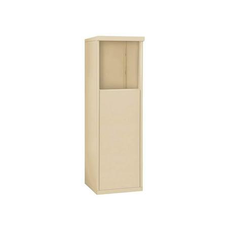 Free Standing Enclosure for Single Column Unit in Sandstone