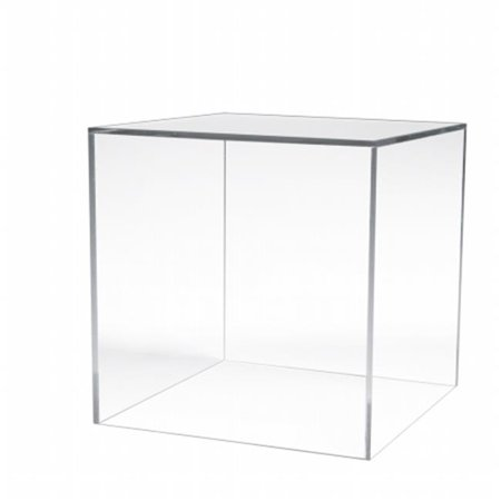 Large Clear Acrylic Counter Top 12 in. Square Display Cube (Pack of 2) Large 12 Piece Display