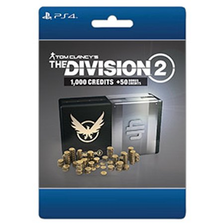 Tom Clancy's The Division 2 – 1050 Premium Credits Pack, Ubisoft, Playstation, [Digital