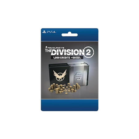 Tom Clancy's The Division 2 – 1050 Premium Credits Pack, Ubisoft, Playstation, [Digital Download]