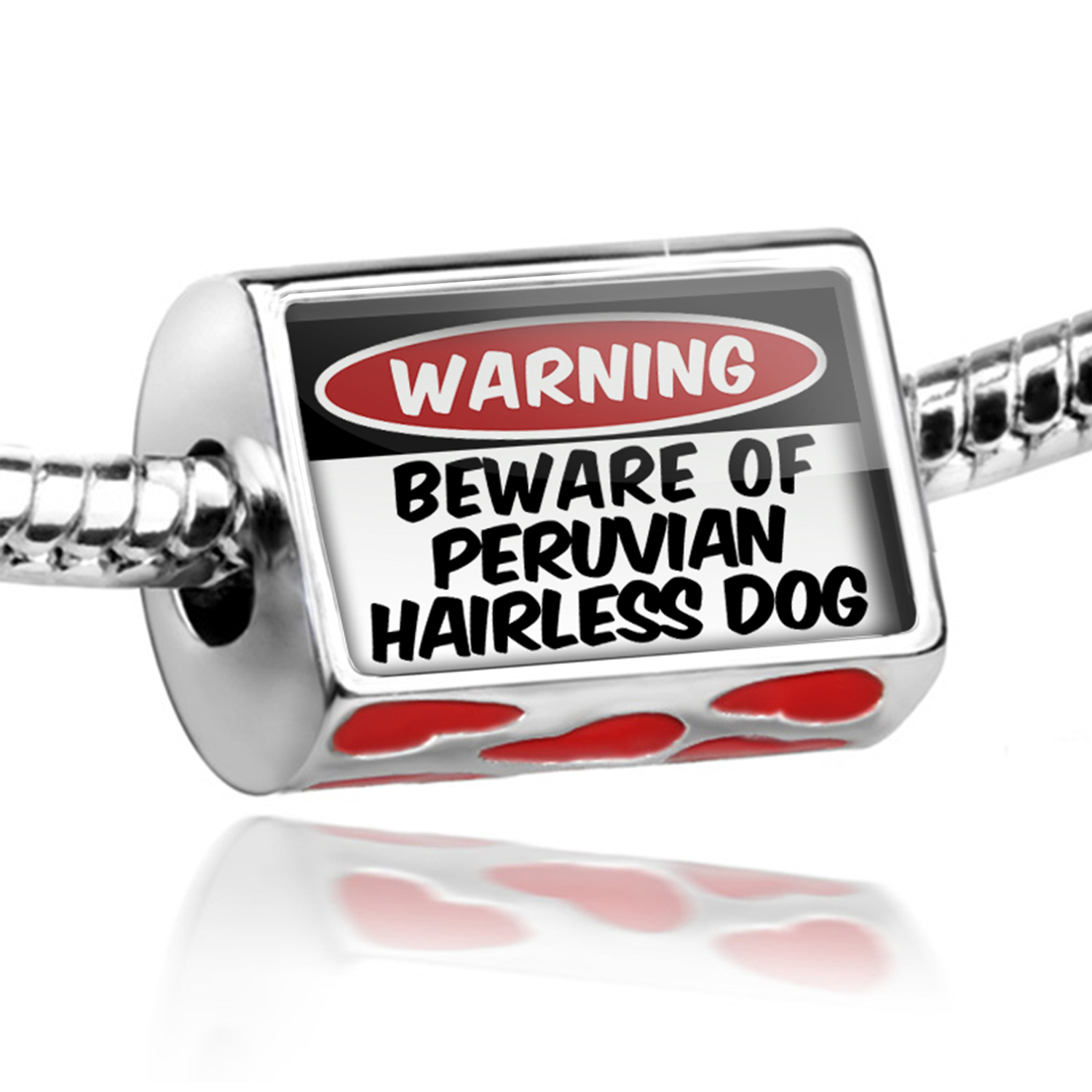 Bead Beware of the Peruvian Hairless Dog from Peru Charm Fits All European Bracelets