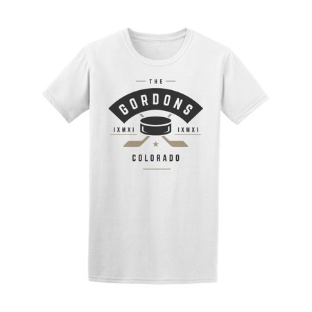 The Gordons Colorado Hockey Team Tee Men's -Image by Shutterstock ()