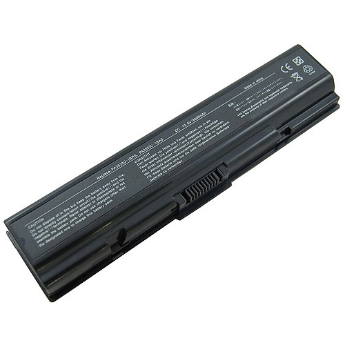 Replacement Battery for Toshiba Equium A200 PA3534U Laptop Battery Pros