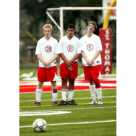 Laminated Poster Sport Player Game Football Team Ball Soccer Poster Print 24 X 36