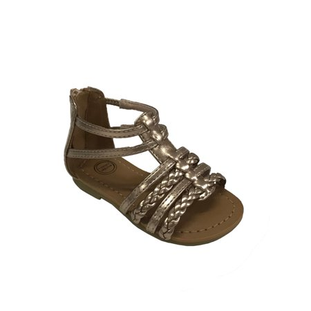 Wonder Nation Infant Girls' Gladiator Sandal - Girls Jeweled Sandals