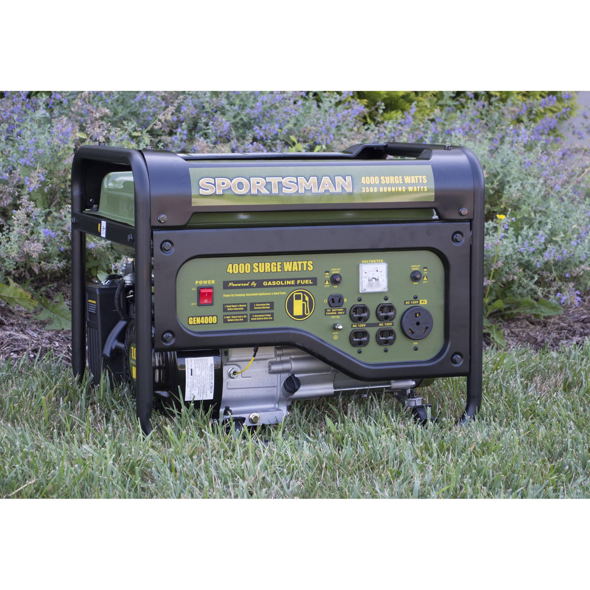 Sportsman Gasoline 4000W Portable Generator Walmart