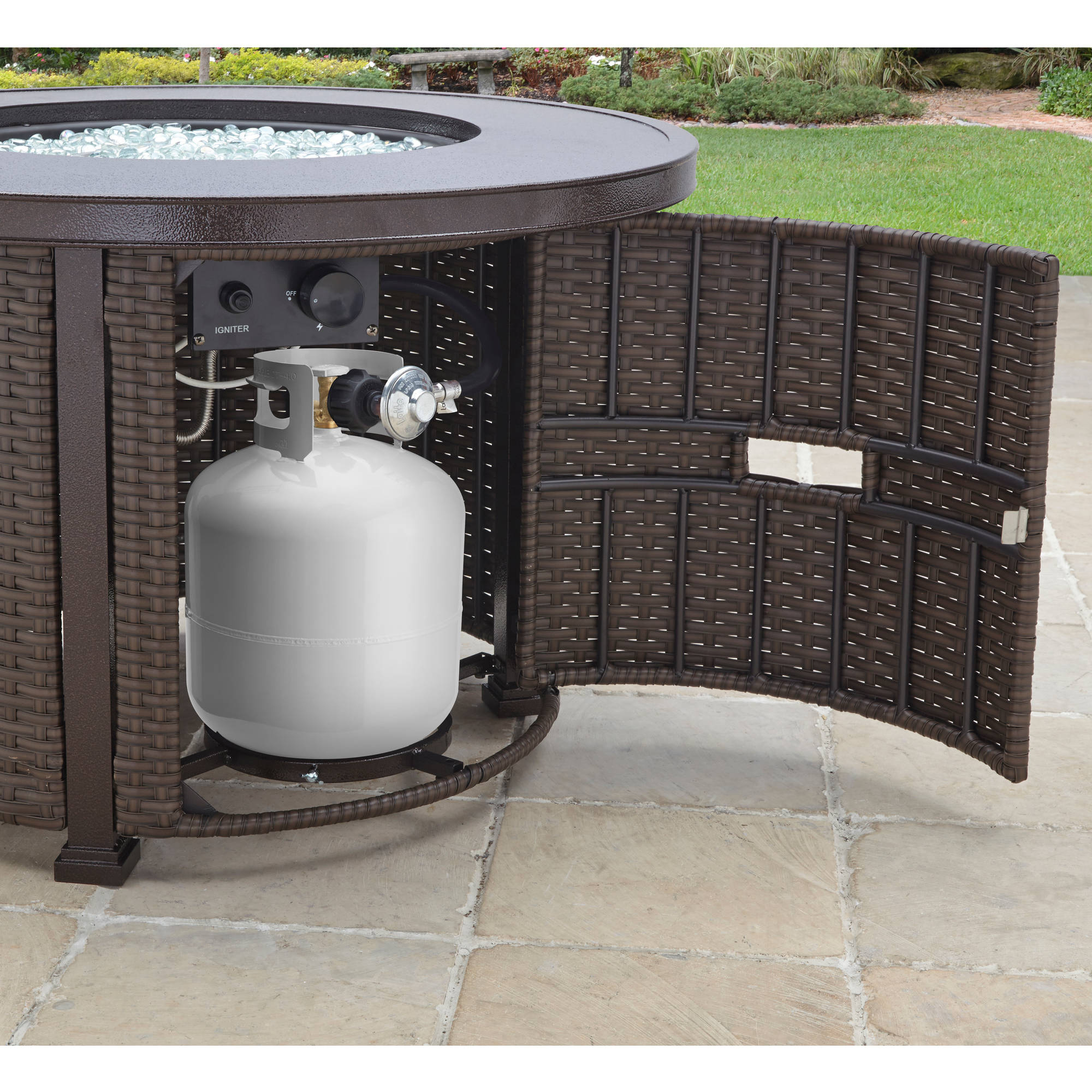 Better Homes and Gardens Colebrook 37 Gas Fire Pit Best Fire Pits