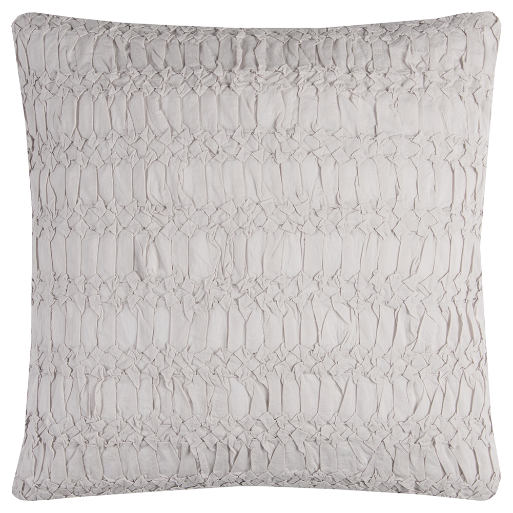 "Rizzy Home Decorative Poly Filled Throw Pillow Technique Textured 20""X20"" Ivory"