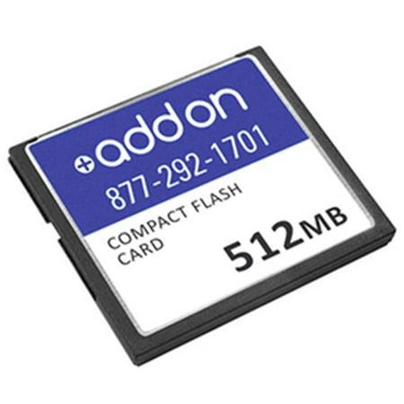 Add-On-Computer Peripherals MEM-RSP720-CF512M-AO Cisco MEM-RSP720-CF512M Compatible 512MB Original Compact Flash - image 1 de 1