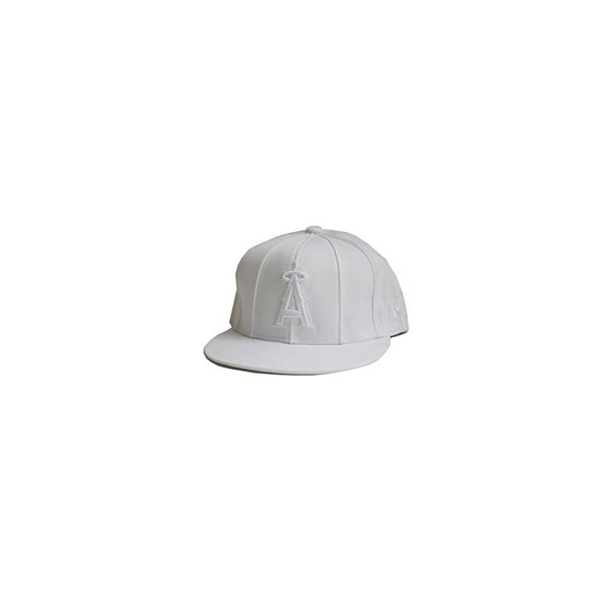 307d32d0 New Era Custom Anaheim Angels Fitted Cap - White 7 3/4 | Walmart Canada
