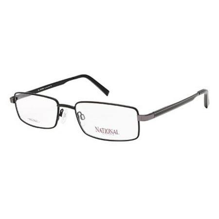 30a59b9b9be Eyeglasses National NA 316 002 matte black - Walmart.com