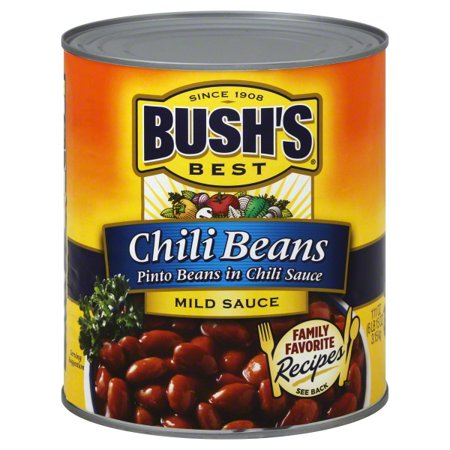 BUSH'S Pinto Beans in a Mild Chili Sauce, 111 oz.