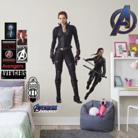 Fathead Avengers: Endgame - Black Widow - Life-Size Officially Licensed Marvel Removable Wall Decal