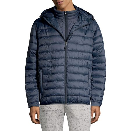 Packable Hooded Down Puffer Jacket