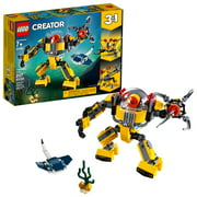LEGO Creator Underwater Robot and Submarine Toy Building Kit 31090