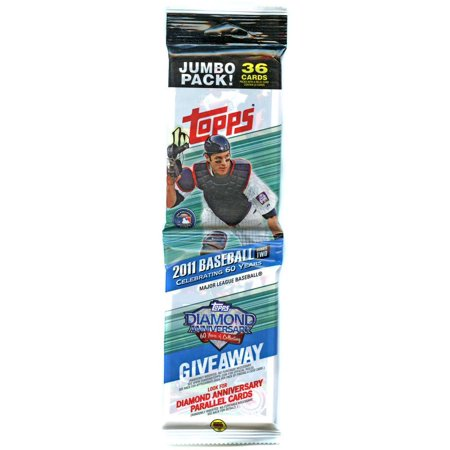 Mlb 2011 Topps Baseball Cards Trading Card Jumbo Pack