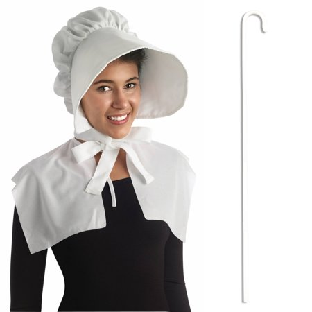 Little Miss Muffet Dress (Adult Pilgrim Shepherd Woman Little Miss Muffet Bo Peep Costume Accessory)