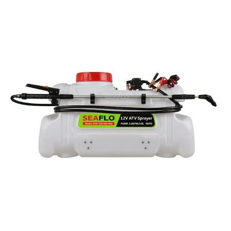 SEAFLO ATV Spot Sprayer - 13 Gallon, 1.0 GPM Pump, 80