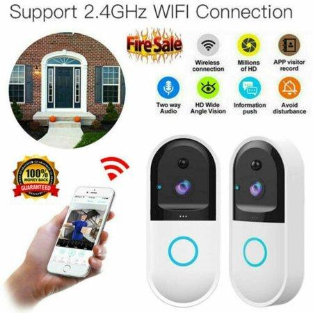 Smart Video Phone Doorbell New Wireless WiFi DoorBell ...