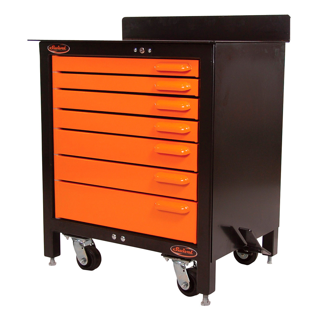 Swivel Storage Solutions PRO303507 7-Drawer 30-Inch Rolling Workbench by