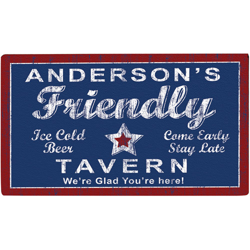 "Personalized 24"" x 36"" Tavern Doormat"