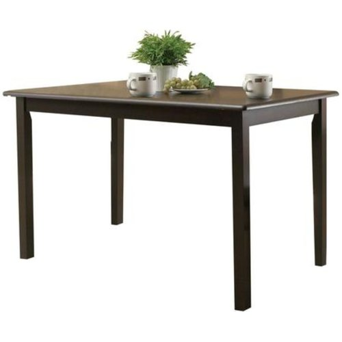 Winston Porter Proctor Solid Wood Dining Table