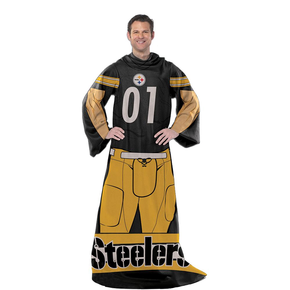 "NFL Pittsburgh Steelers Player 48"" X 71"" Full Body Comfy"
