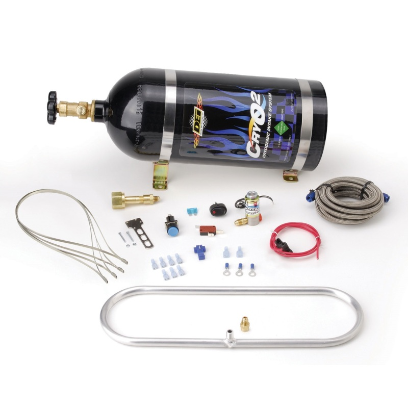 DEI Intercooler Sprayer Kit w/ 10 lb.Tank - Install Kit - 16in x 5in Sprayer
