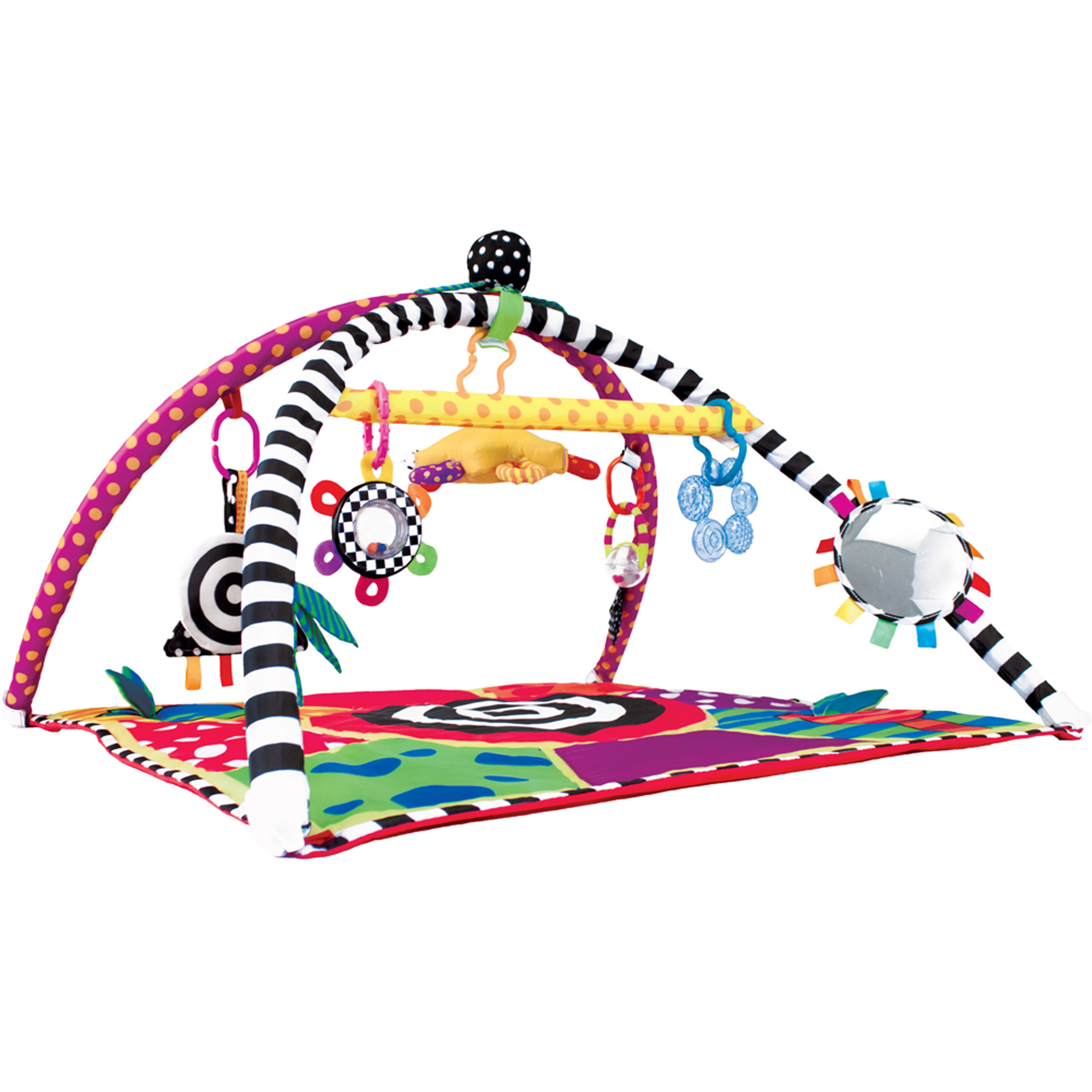 Sassy Sensory Gym with Links and Learn Interchangeable Toys