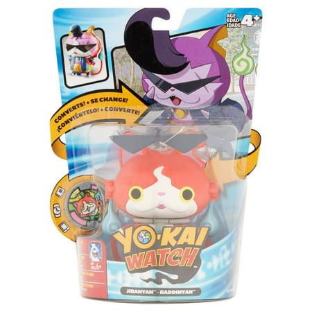Wave 3 Hasbro Toys (Hasbro Yo-kai Watch Jibanyan and Baddinyan Toys Age 4+ )