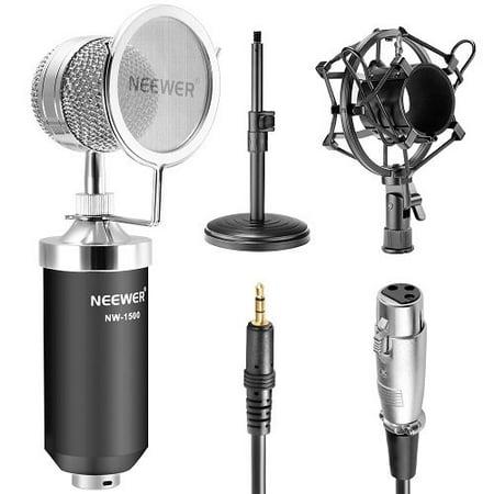 Neewer NW-1500 Desktop Broadcast & Recording Condenser