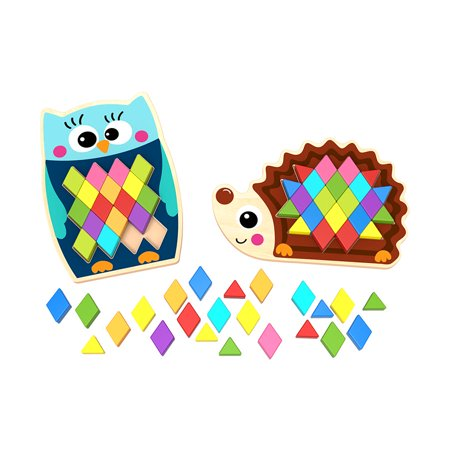 Play Pattern Puzzle - Owl & - Owl Puzzle